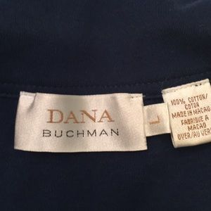 Dana Buchman Tops - Dana Buchanan Navy Knit Top